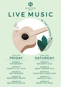 Live Music in the Garden
