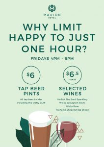 Friday Happy Hours
